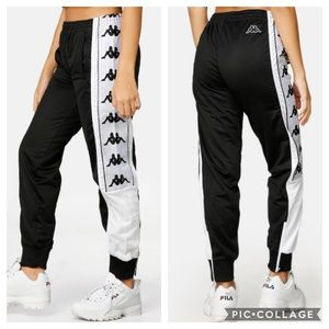 Kappa NWT 222 Banda 10 Arsis Pants, Size S